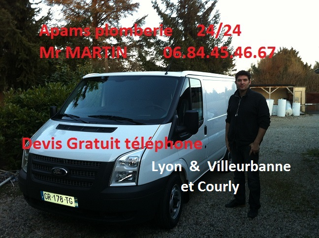 camion apams plomberie David Martin plombier Bully